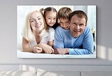 Foto lienzo barato ejemplo familia