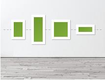 Ilustracion salon configuracion en secuencia