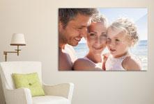 Salon foto lienzo ejemplo retrato familia