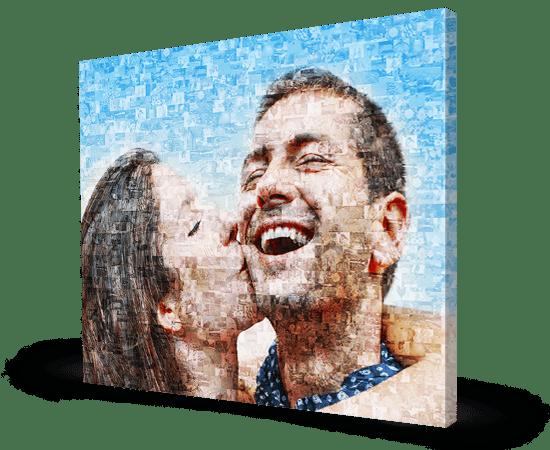 lienzo mosaico foto